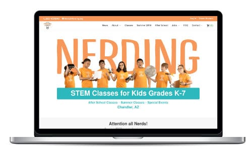 Nerding.org Website Preview